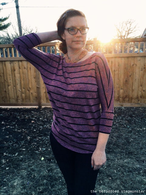 Pomelo striped dolman top from Stitchfix